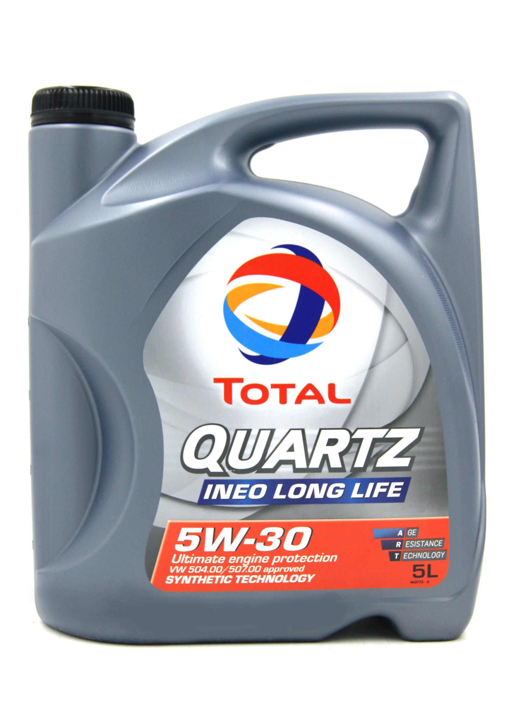 Total Quartz Ineo Long Life 5W30 5L Olej Silnikowy Syntetyczny
