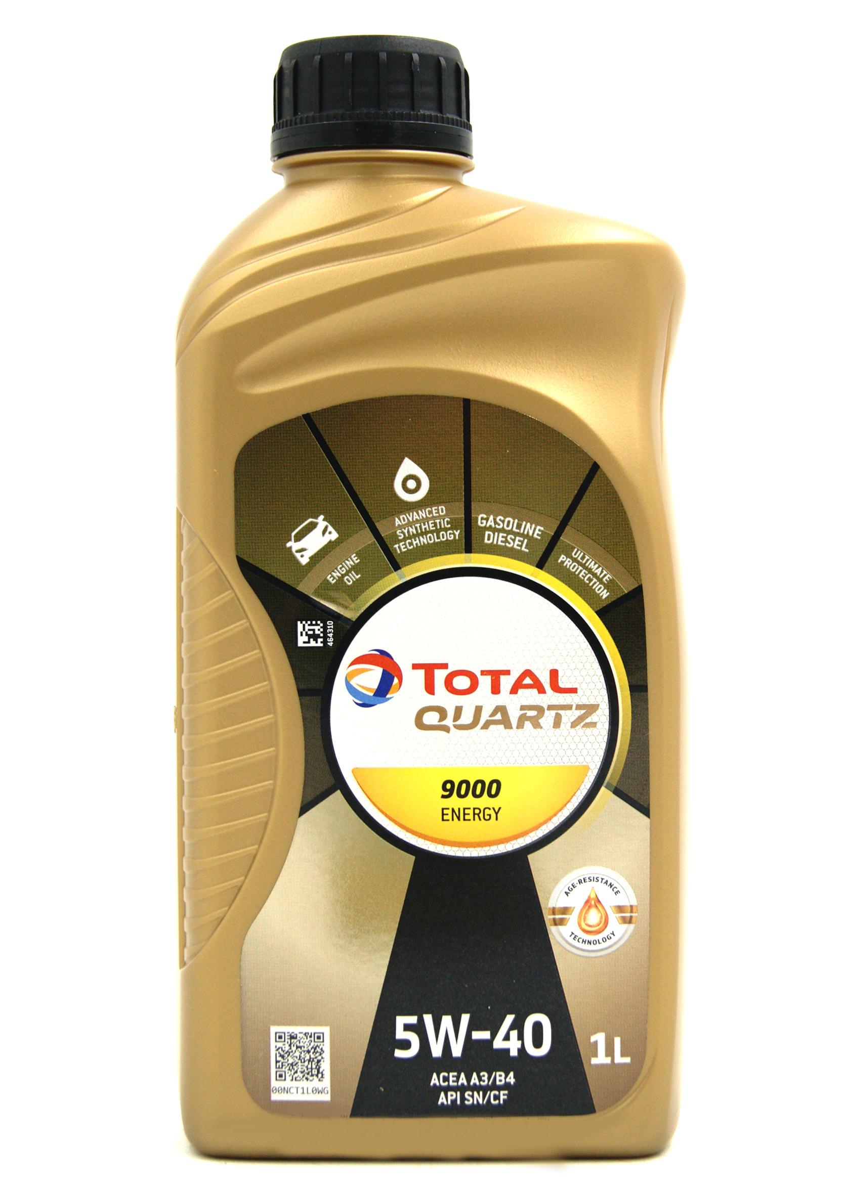 Total Quartz 9000 Energy 5W40 1L Olej Silnikowy Syntetyczny