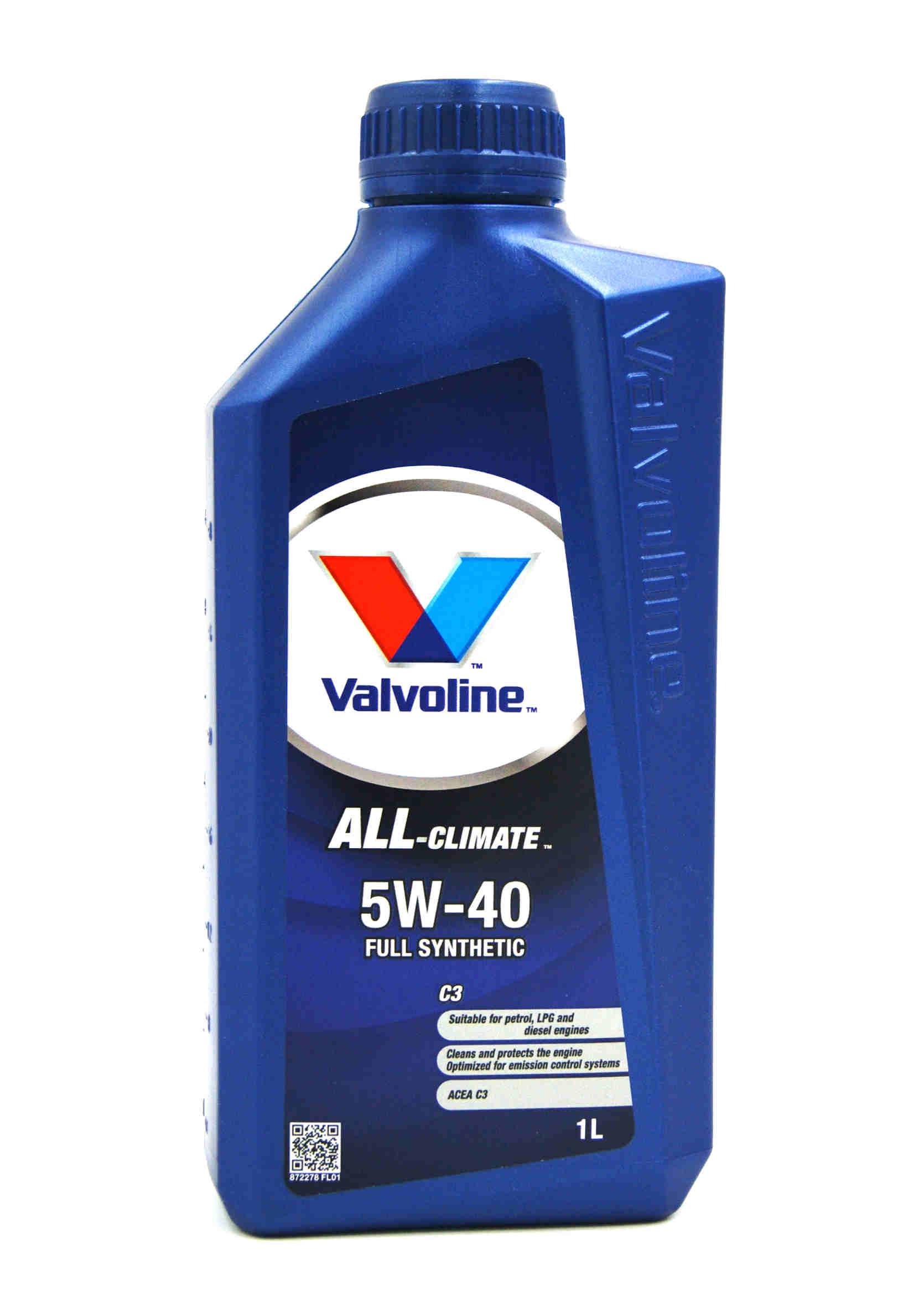 Valvoline All-Climate 5W40 C3 1L Olej Silnikowy Syntetyczny