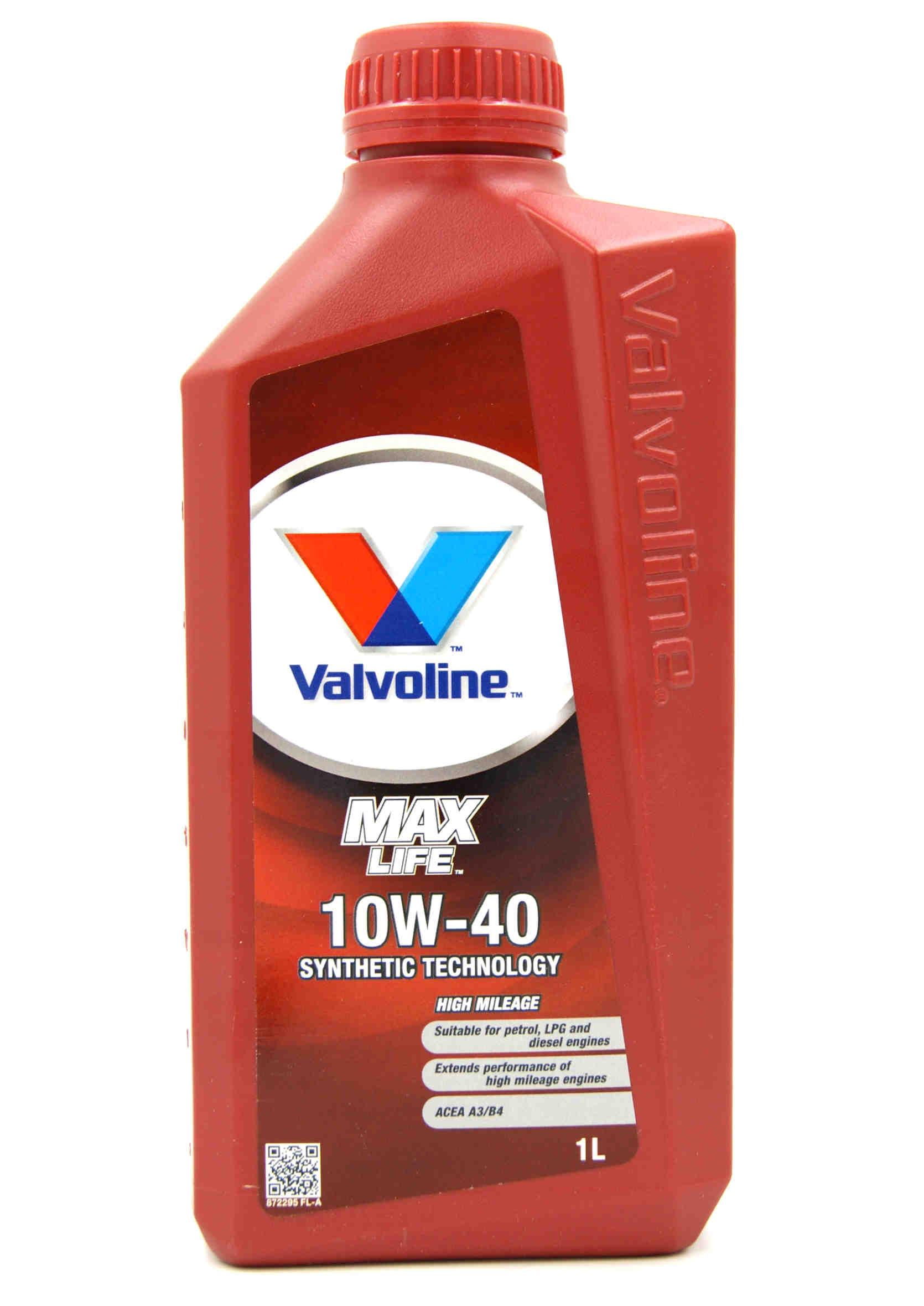 Valvoline MaxLife 10W40 1L Olej Półsyntetyczny