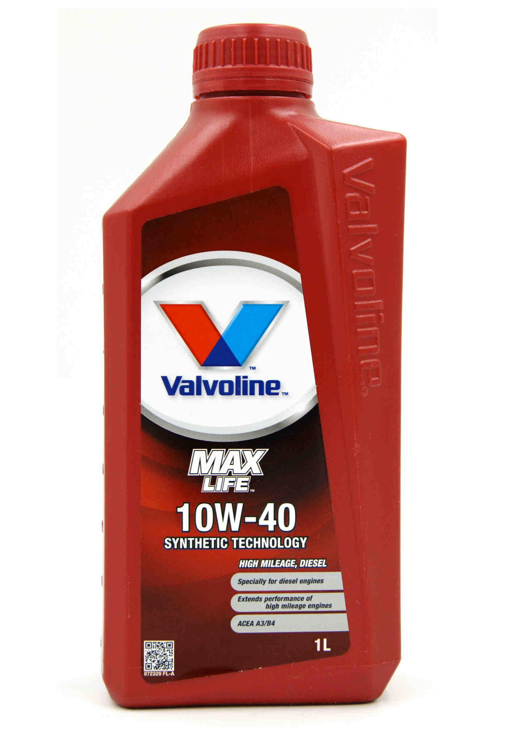 Valvoline MaxLife Diesel 10W40 1L Olej Silnikowy Półsyntetyczny