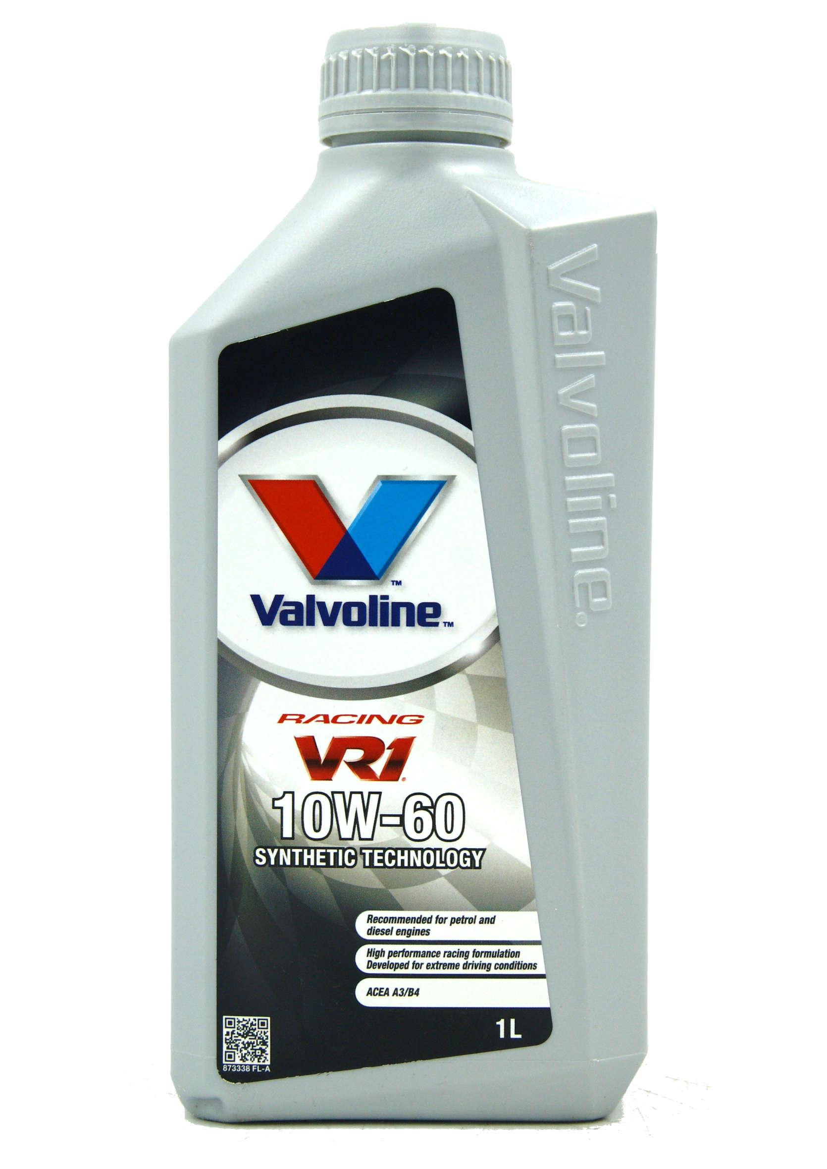 Valvoline VR1 Racing 10W-60 1L Półsyntetyczny Olej Silnikowy