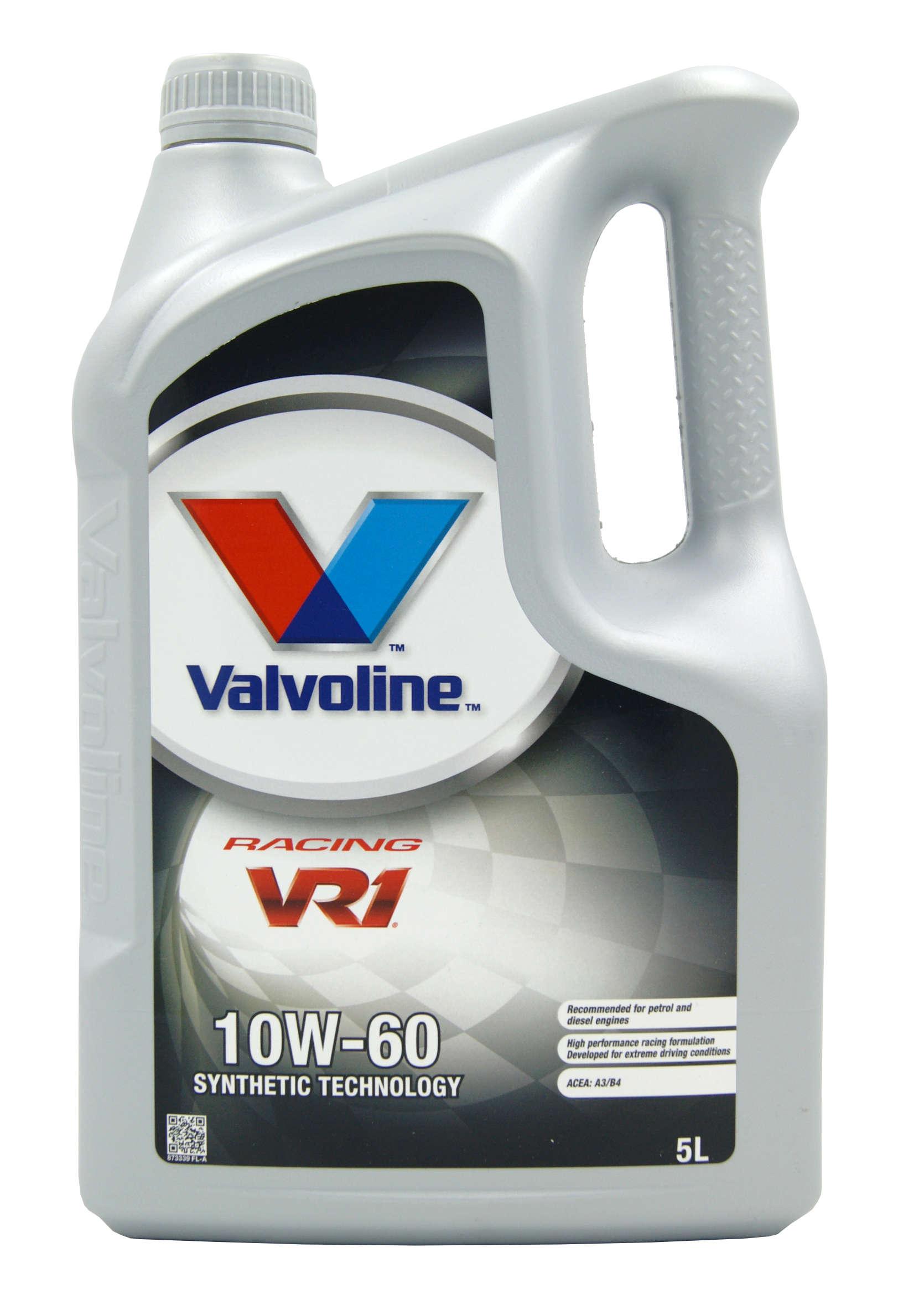 Valvoline VR1 Racing 10W60 5L Olej Silnikowy Półsyntetyczny
