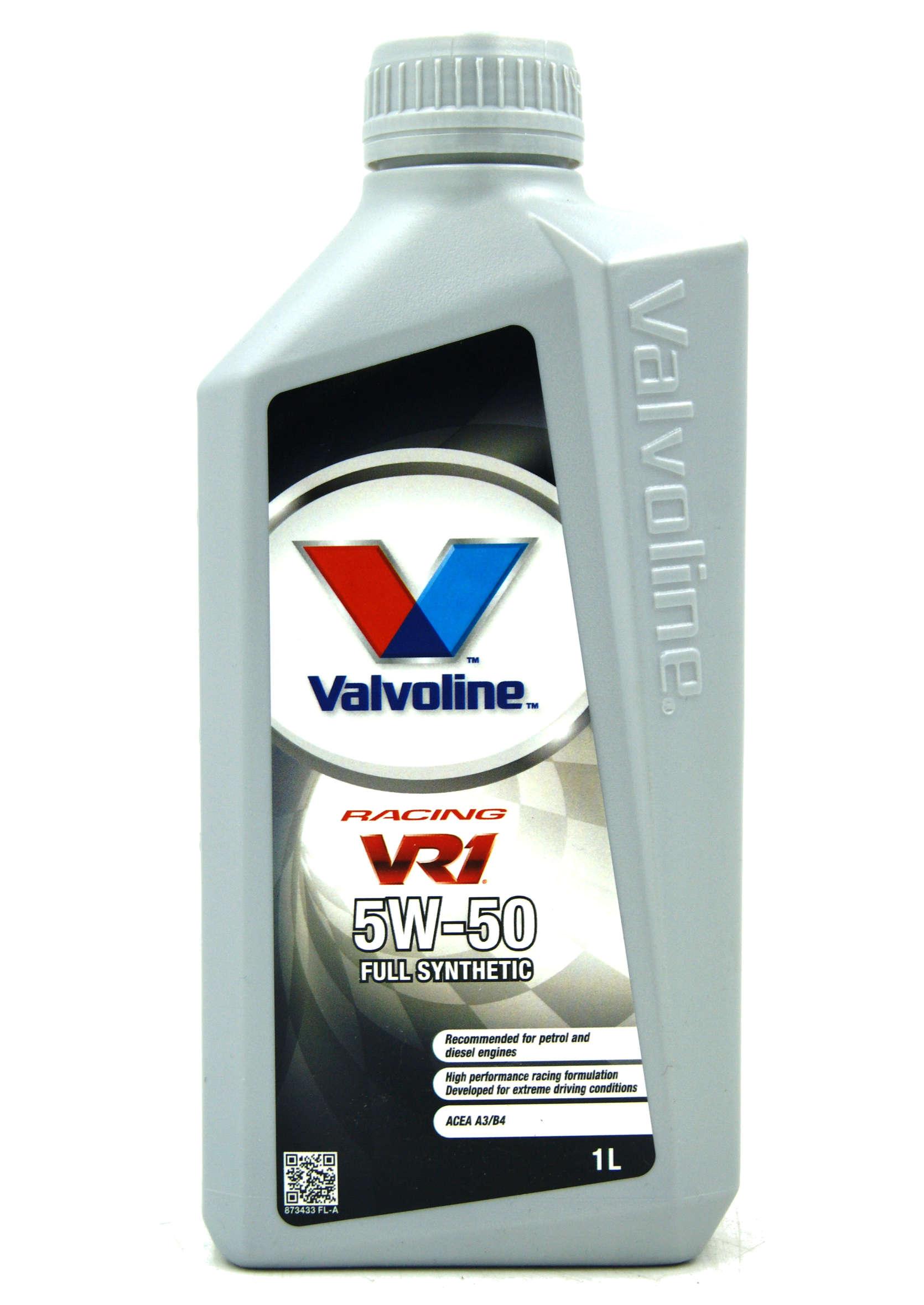 Valvoline VR1 Racing 5W50 1L Olej Silnikowy Syntetyczny