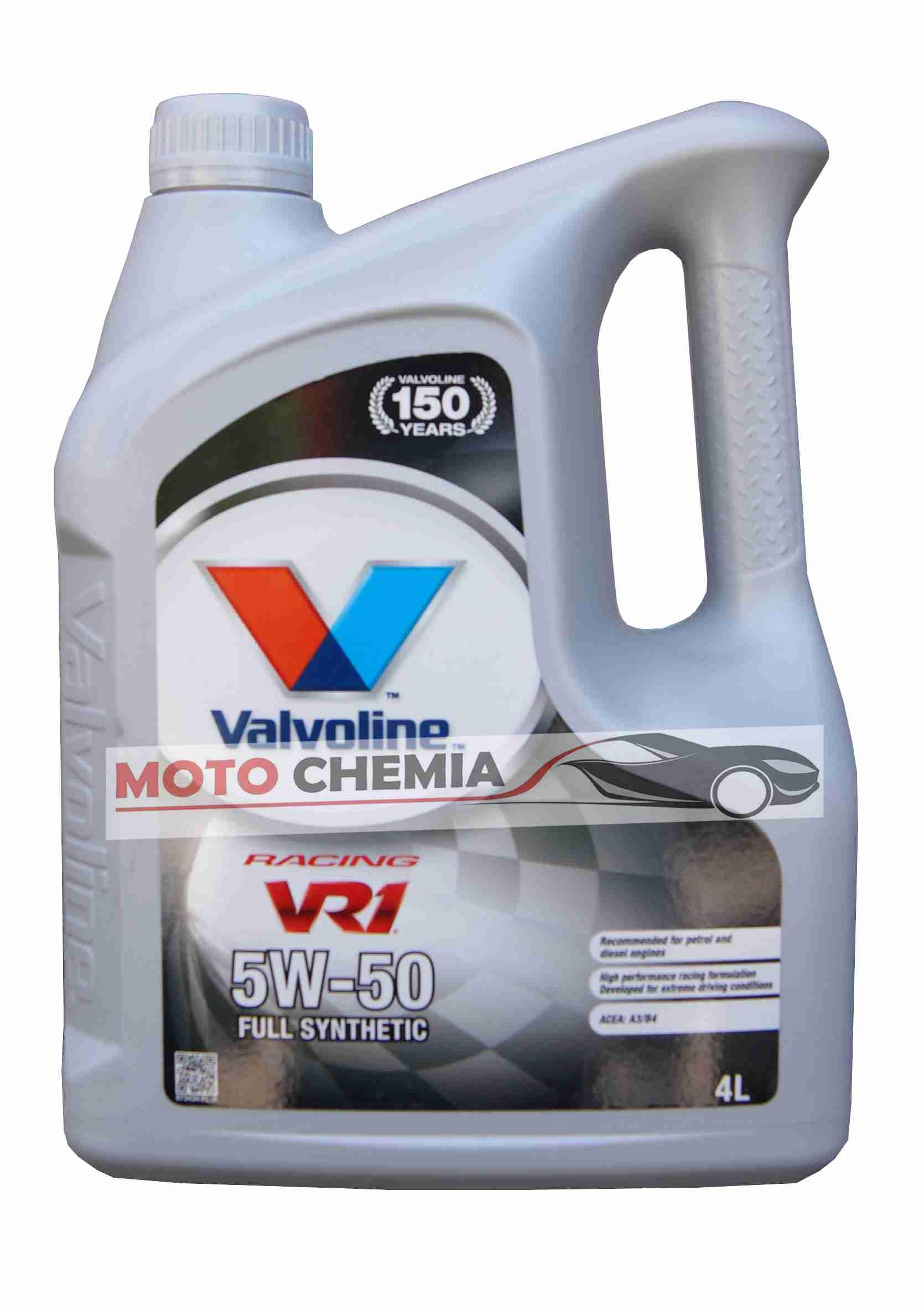 Valvoline VR1 Racing 5W-50 4L Olej Syntetyczny