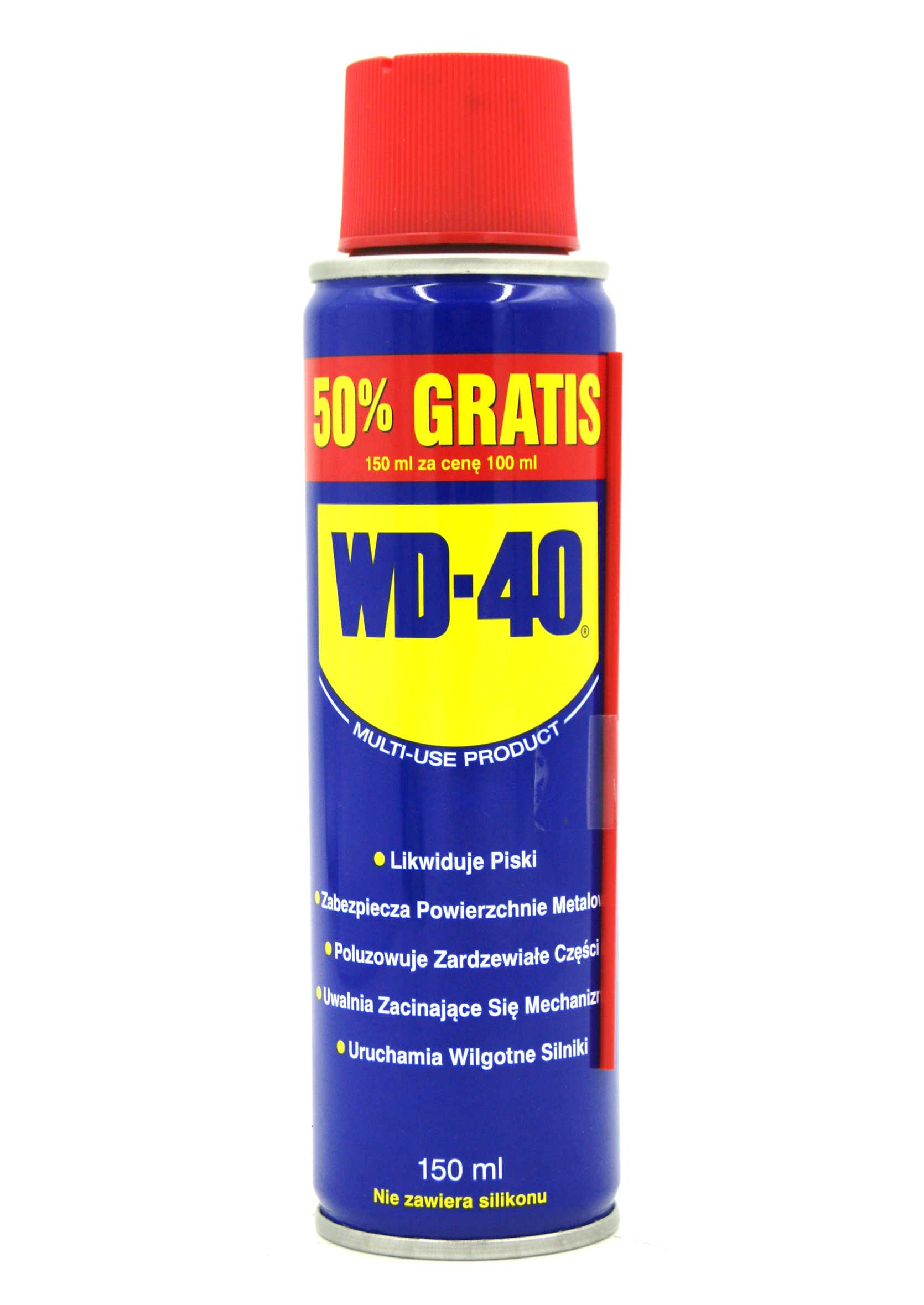 WD-40 150ml Preparat Wielozadaniowy WD40 Penetrant Smar Odrdzewiacz