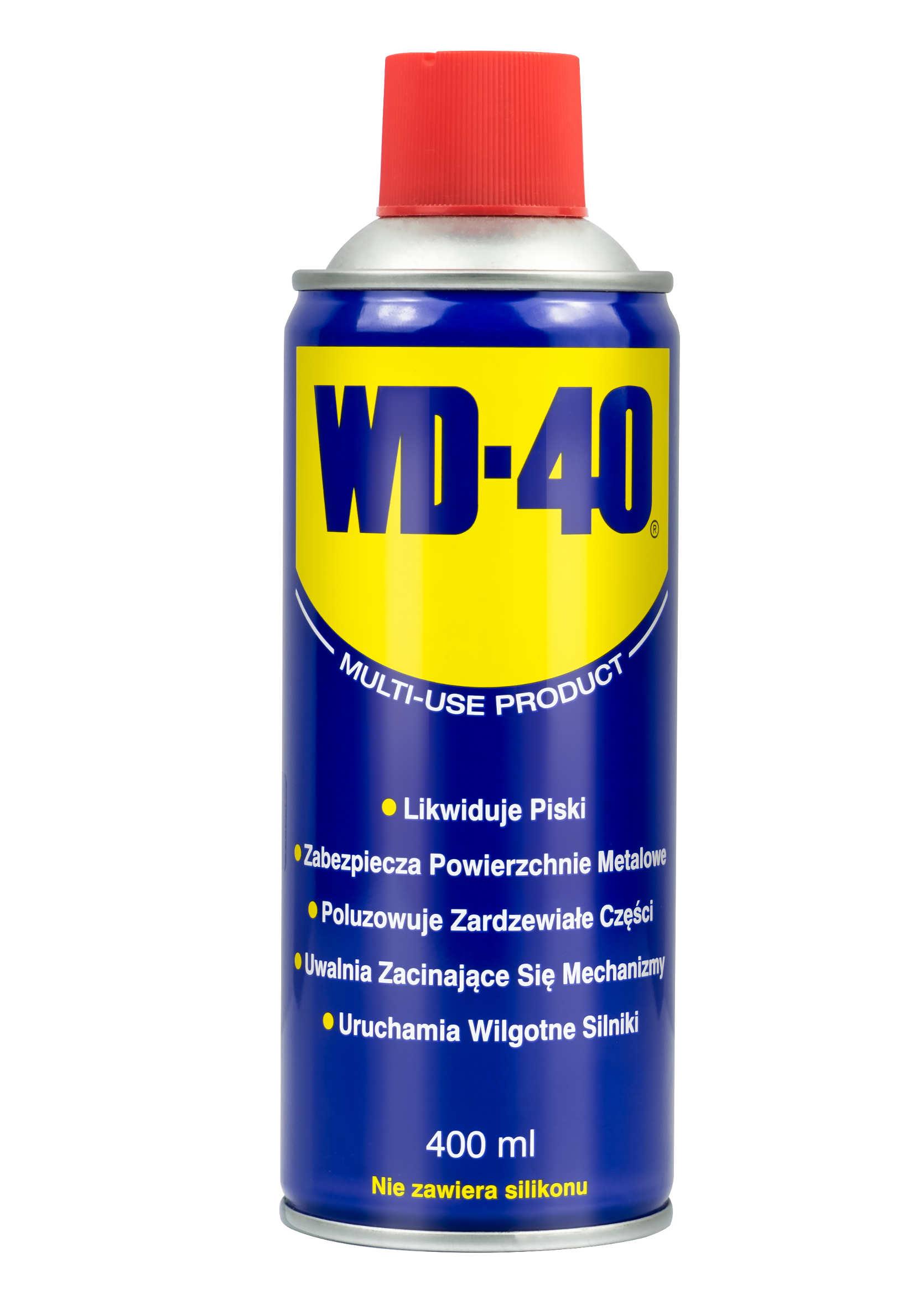 WD-40 400ml Preparat Wielozadaniowy WD40 Penetrant Smar Odrdzewiacz