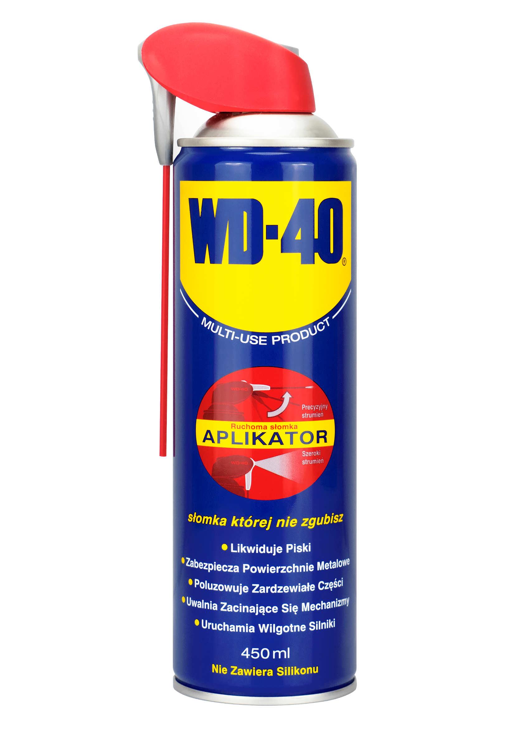 WD-40 z Aplikatorem 450ml Preparat Wielozadaniowy WD40 Penetrant Smar Odrdzewiacz