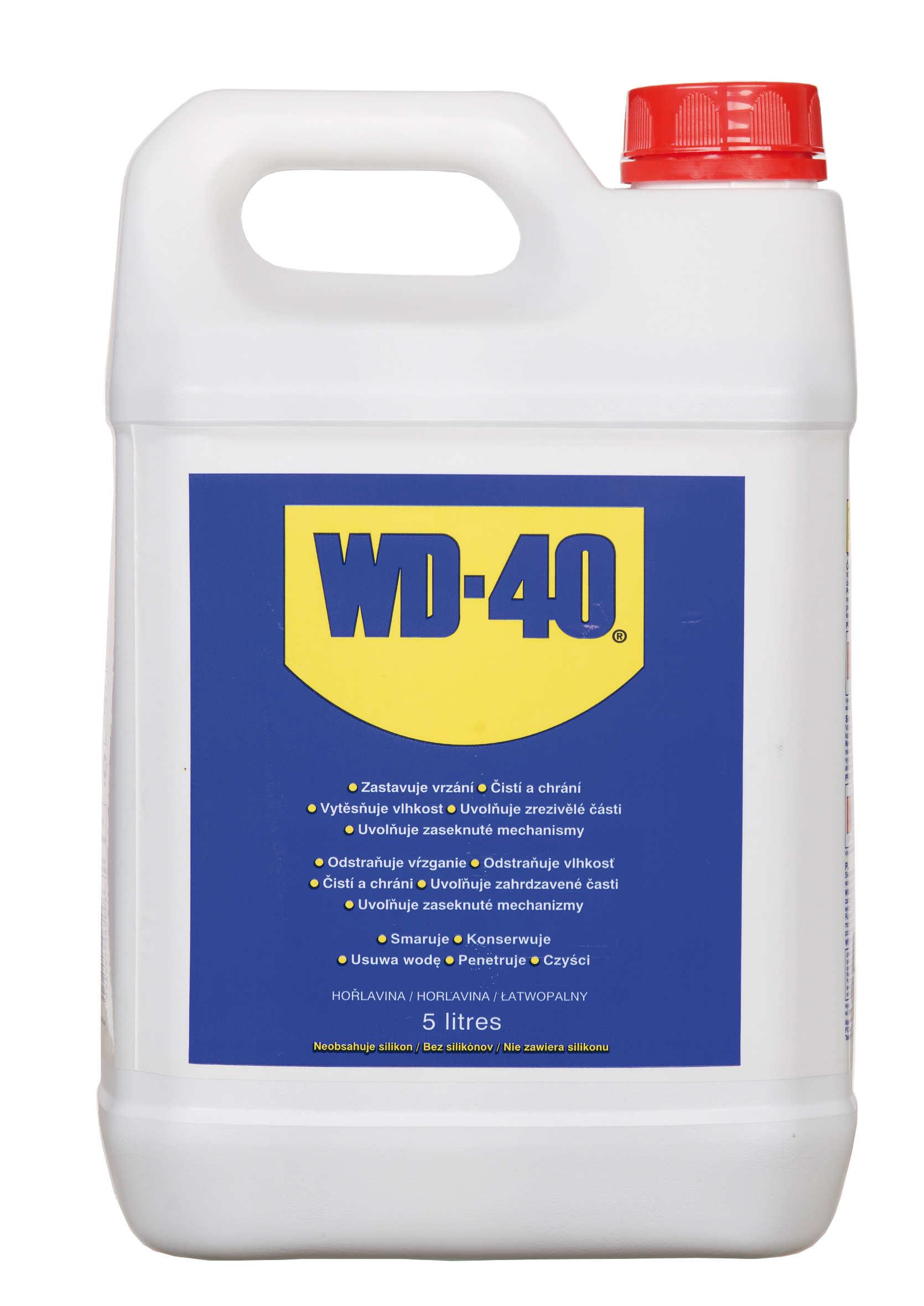 WD-40 Kanister 5L Preparat Wielozadaniowy WD40 w Płynie Penetrant Smar Odrdzewiacz