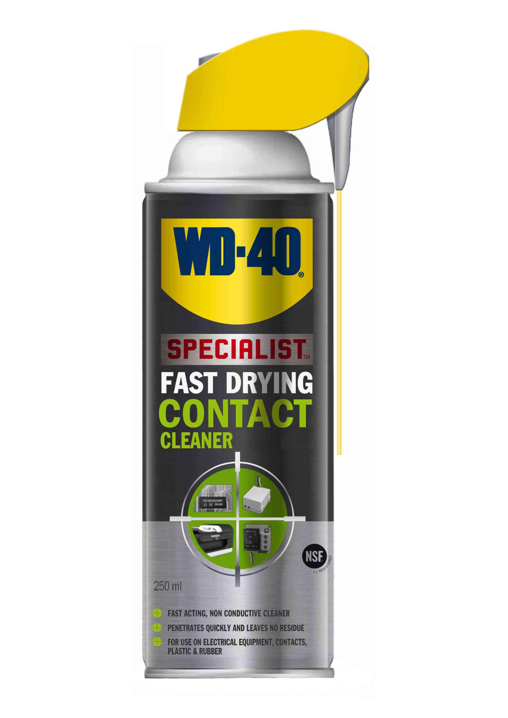 WD-40 Specialist Contact Cleaner 250ml WD40 Preparat Wielofunkcyjny do Czyszczenia