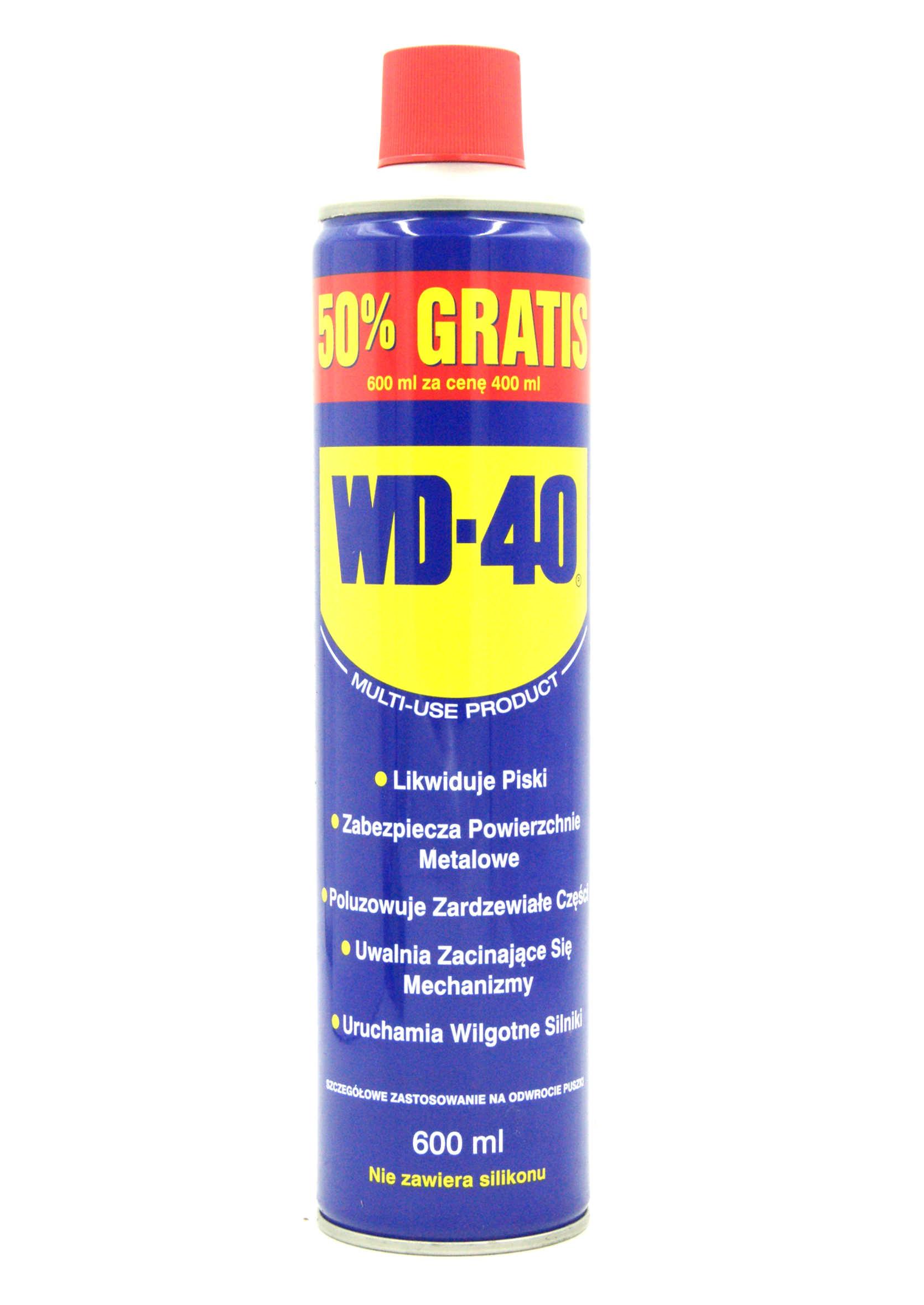 WD-40 600ml Preparat Wielozadaniowy WD40 Penetrant Smar Odrdzewiacz