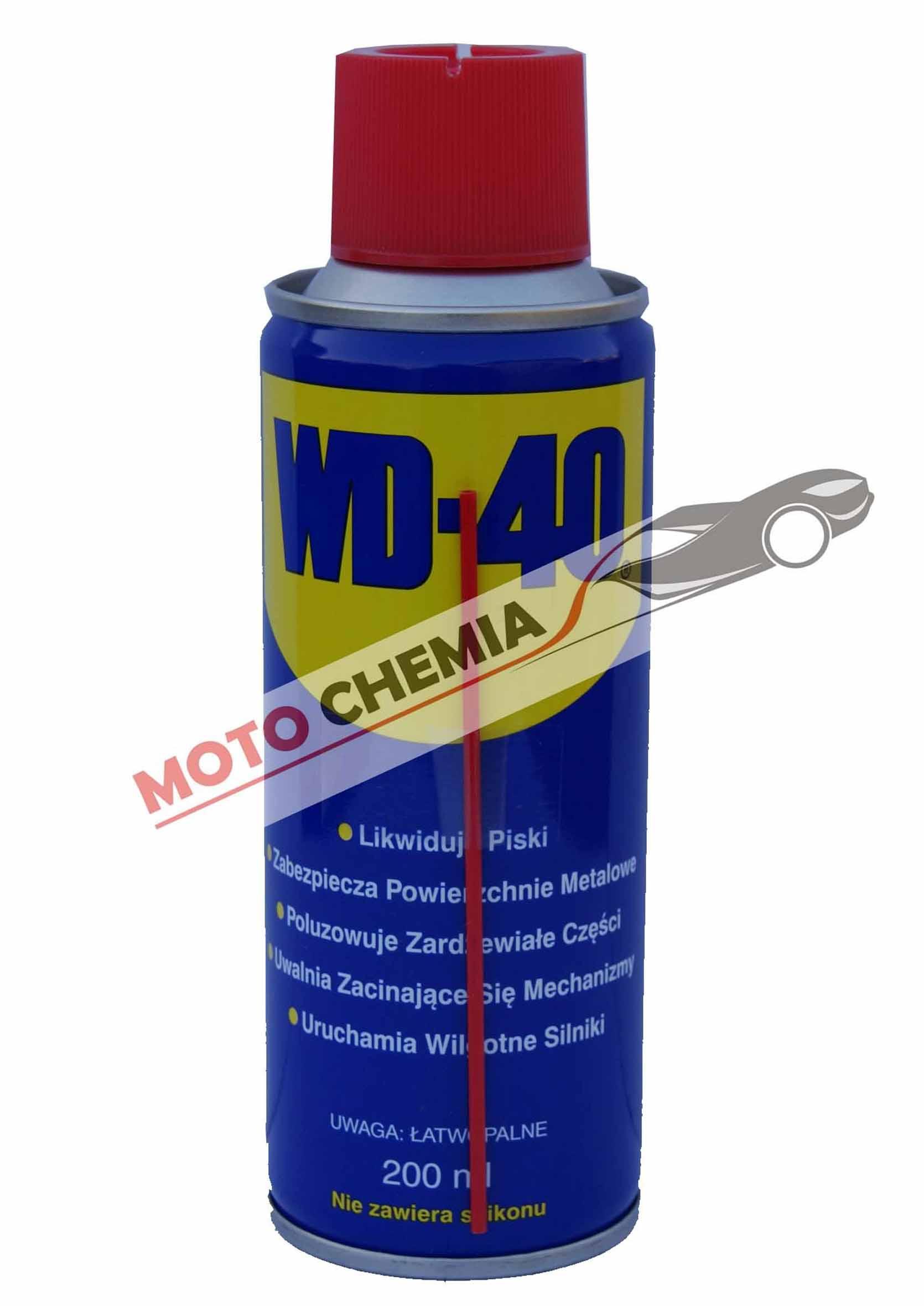 WD-40 200ml Preparat wielofunkcyjny wd40 penetrant odrdzewiacz wielozadaniowy