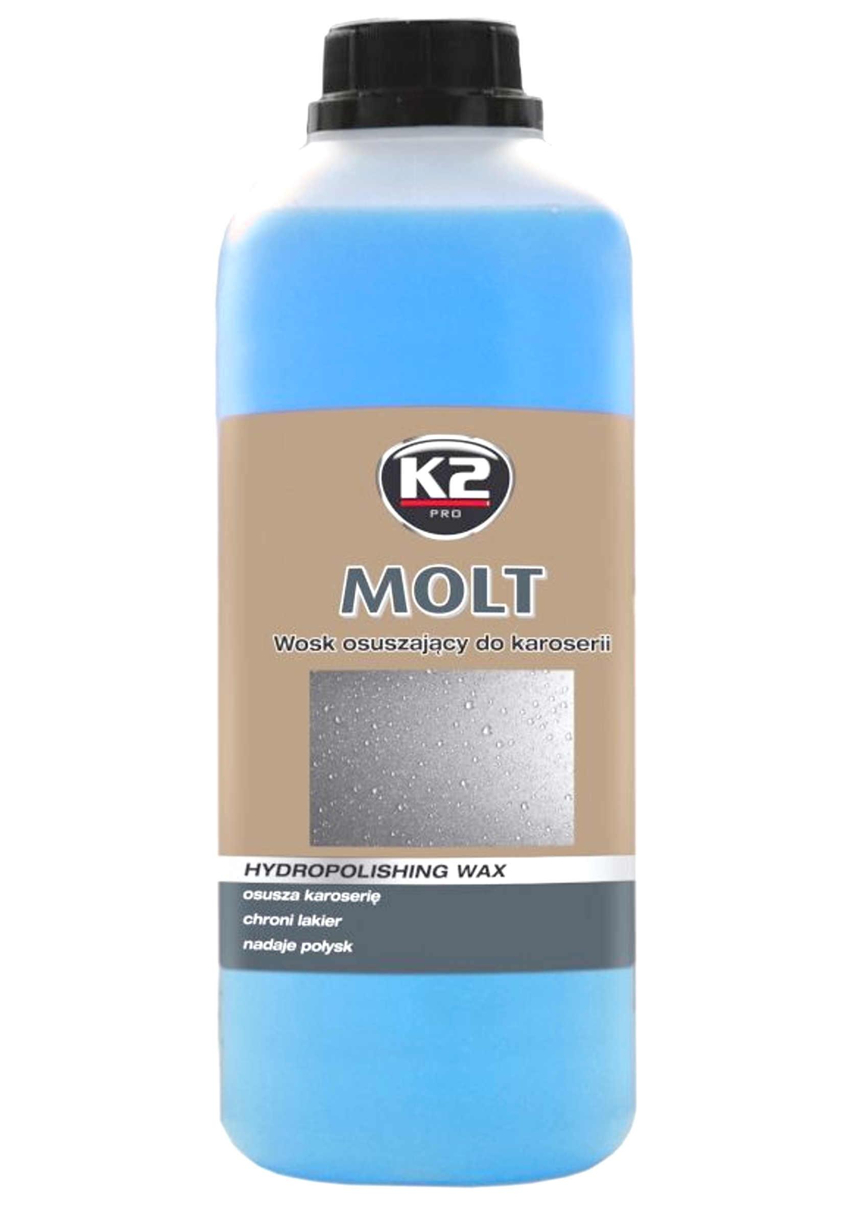 K2 Molt 1kg Osuszający Wosk na Mokro do Karoserii
