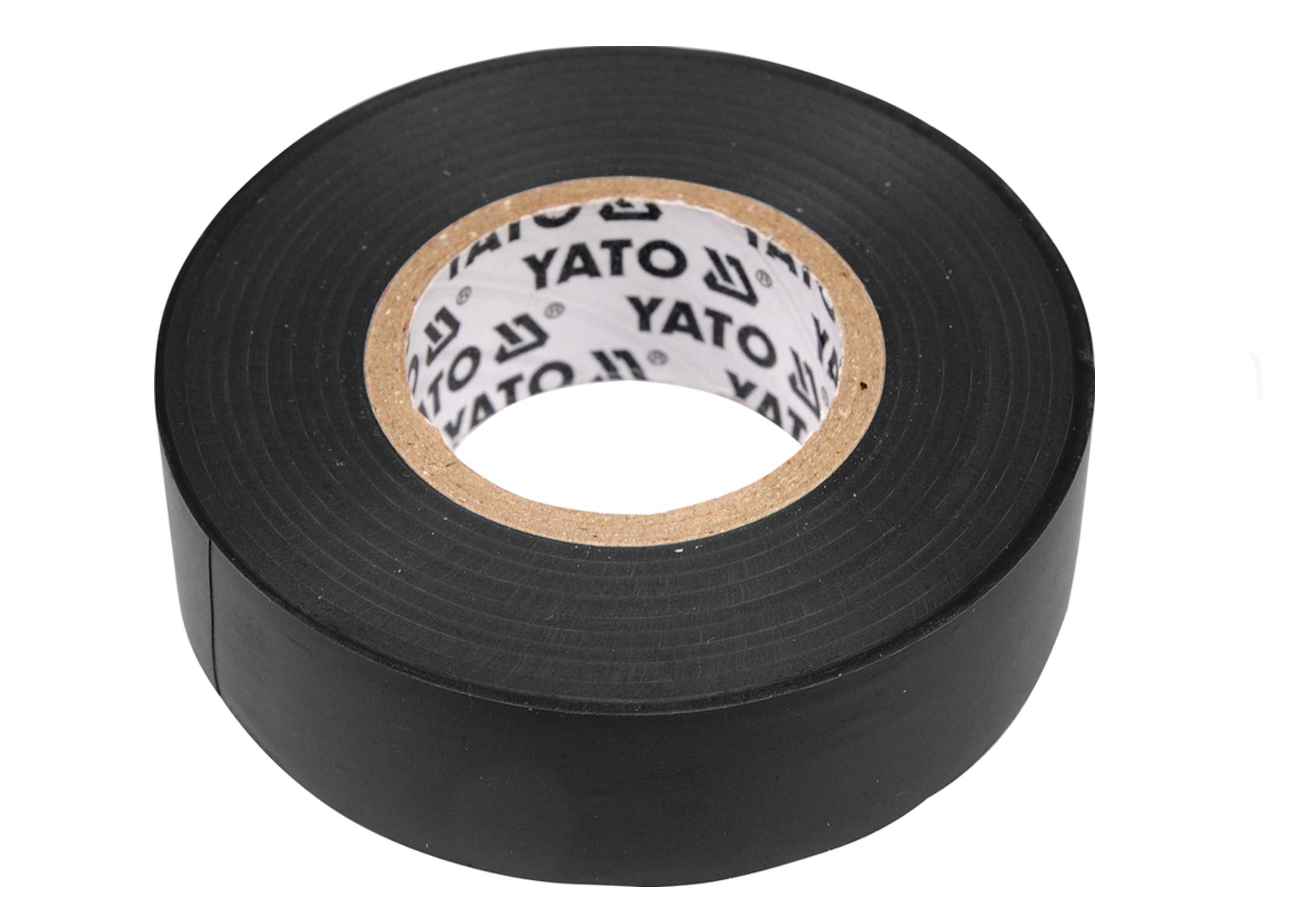 Yato YT-8159 Taśma Elektroizolacyjna 20m 15mm czarna