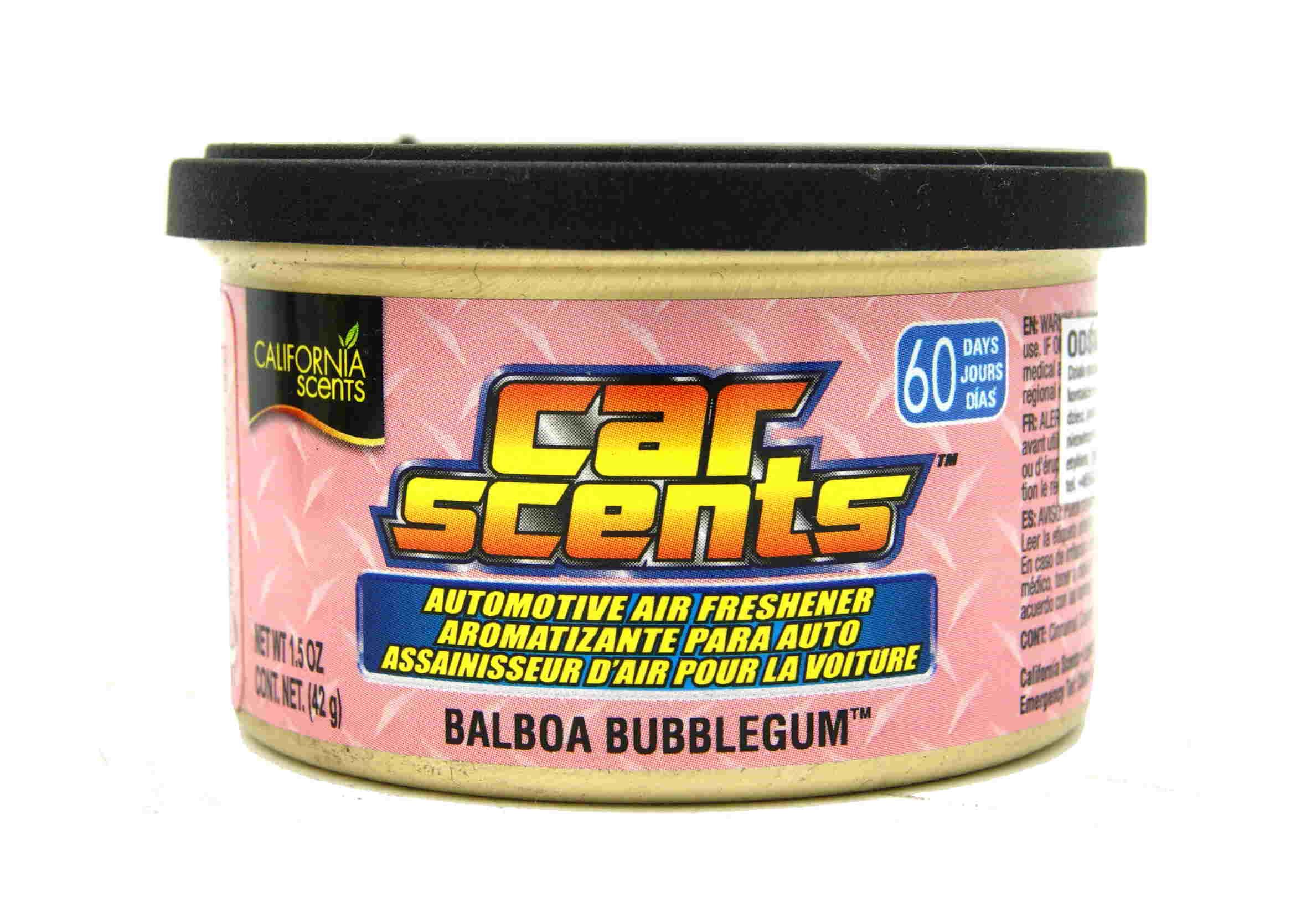 California Scents Balboa Bubblegum 42g Zapach Samochodowy Puszka