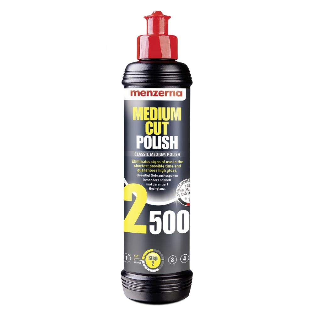Menzerna Medium Cut Polish 2500 250ml Średnio Ścierna Pasta Polerska