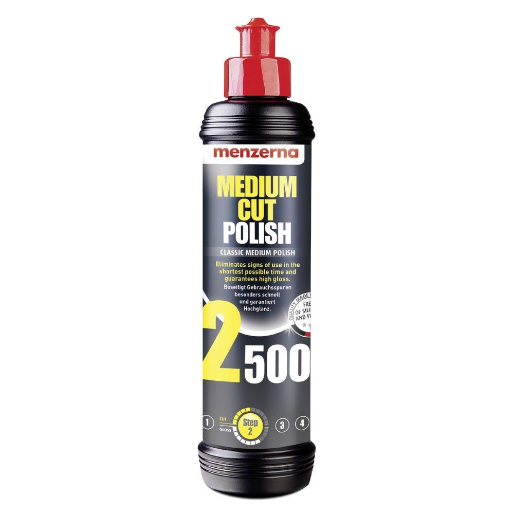 Menzerna Medium Cut Polish 2500 250ml Średnio Ścierna Pasta Polerska