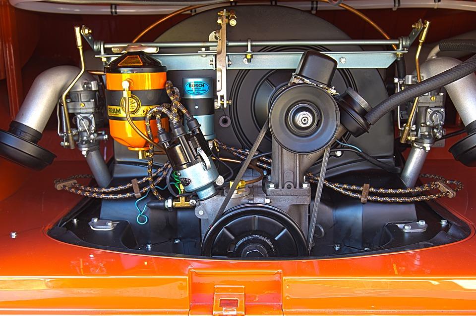 Pasek klinowy w silniku Volkswagena T2