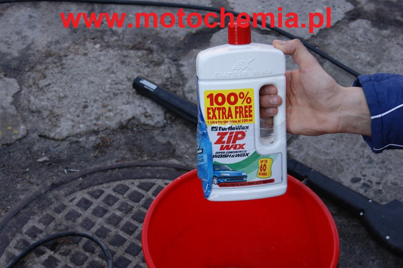 Szampon samochodowy z woskiem Zip Wax 1L