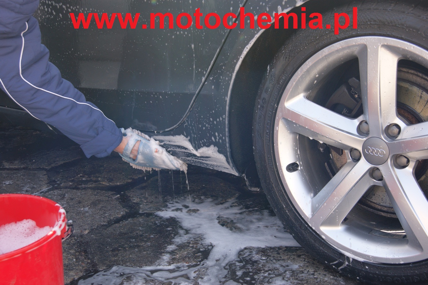 Mycie progów samochodowych